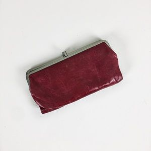 Hobo | Red Leather Wallet